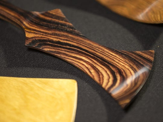 The exotic woods reveal rich details.
