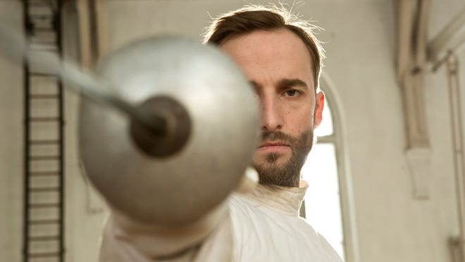 """Märt Avandi plays the title role in """"The Fencer."""""""