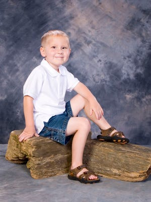 Jabin Lawrence was 3 when he was diagnosed with a cancerous brain tumor in 2006. He died in 2007. His mother coordinates an annual fundraiser at Plainview High School for St. Jude Children's Hospital, where Jabin was a patient.
