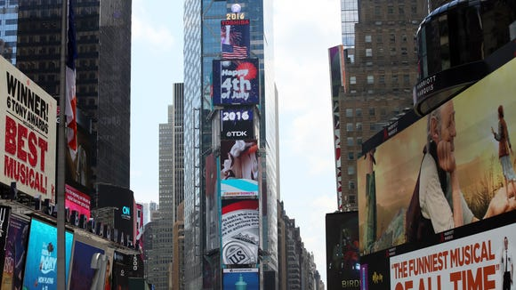 Times Square in New York