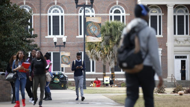 File photo of FAMU campus from  Tuesday, Jan. 26, 2016.