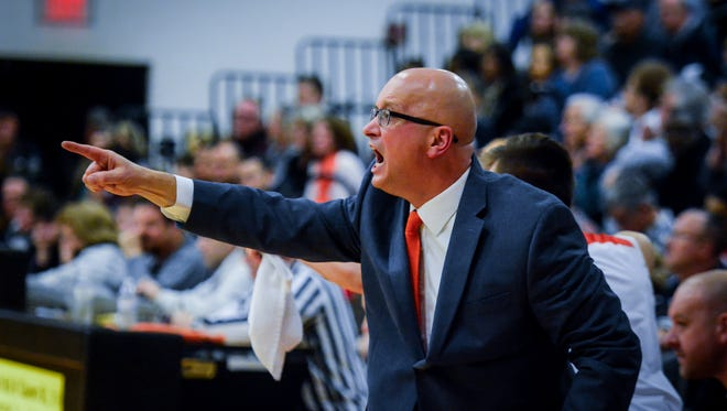 Northeastern head coach Jon Eyster will lead his Bobcats into a York-Adams Division I showdown at York High on Friday night. The Bobcats are the defending D-I champions, while the Bearcats are unbeaten this season. DISPATCH FILE PHOTO