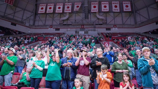 Central took on New Castle Feb. 24 inside Worthen Arena for the last regular season game. New Castle won the game 79-60.