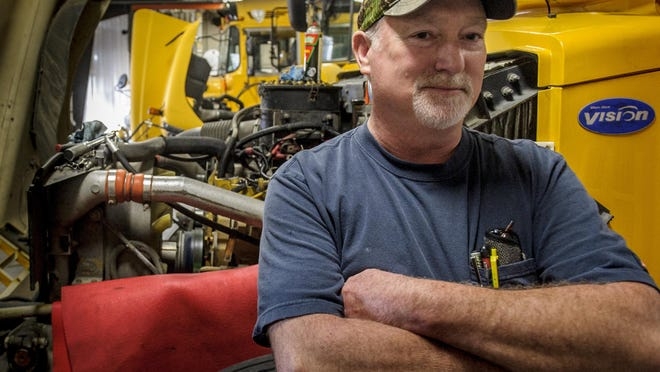 Southeast Polk's KevinTalley, lead bus mechanic, has received his ASE certification for a master bus mechanic.