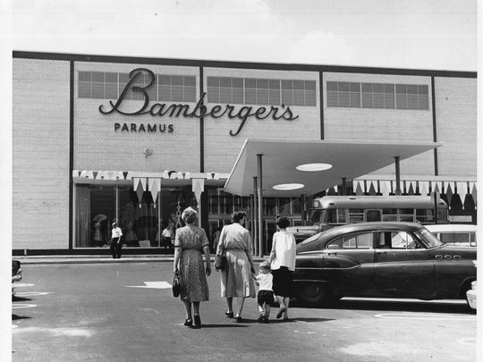 Bamberger's department store at the Garden State Plaza. Unknown date.