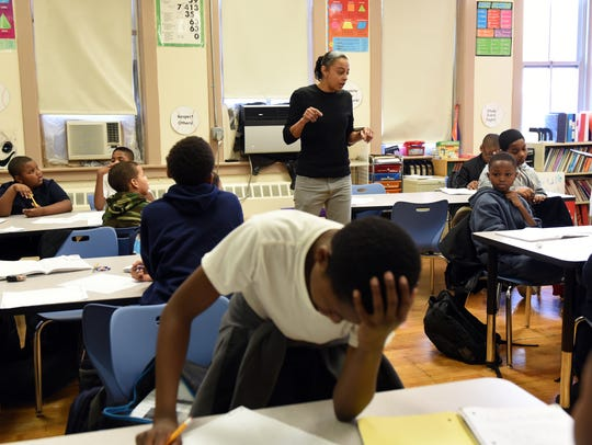 The Paterson Leadership Academy for Young Men, which