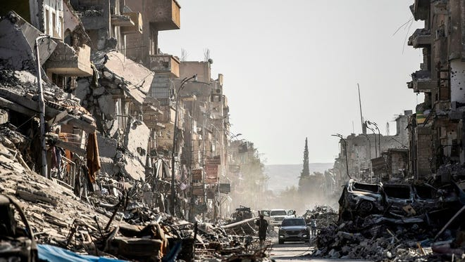 Syria's civil war: Raging for 7 years and still no end in sight