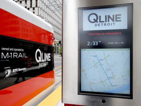 Like all the stations on the route of the QLine, the