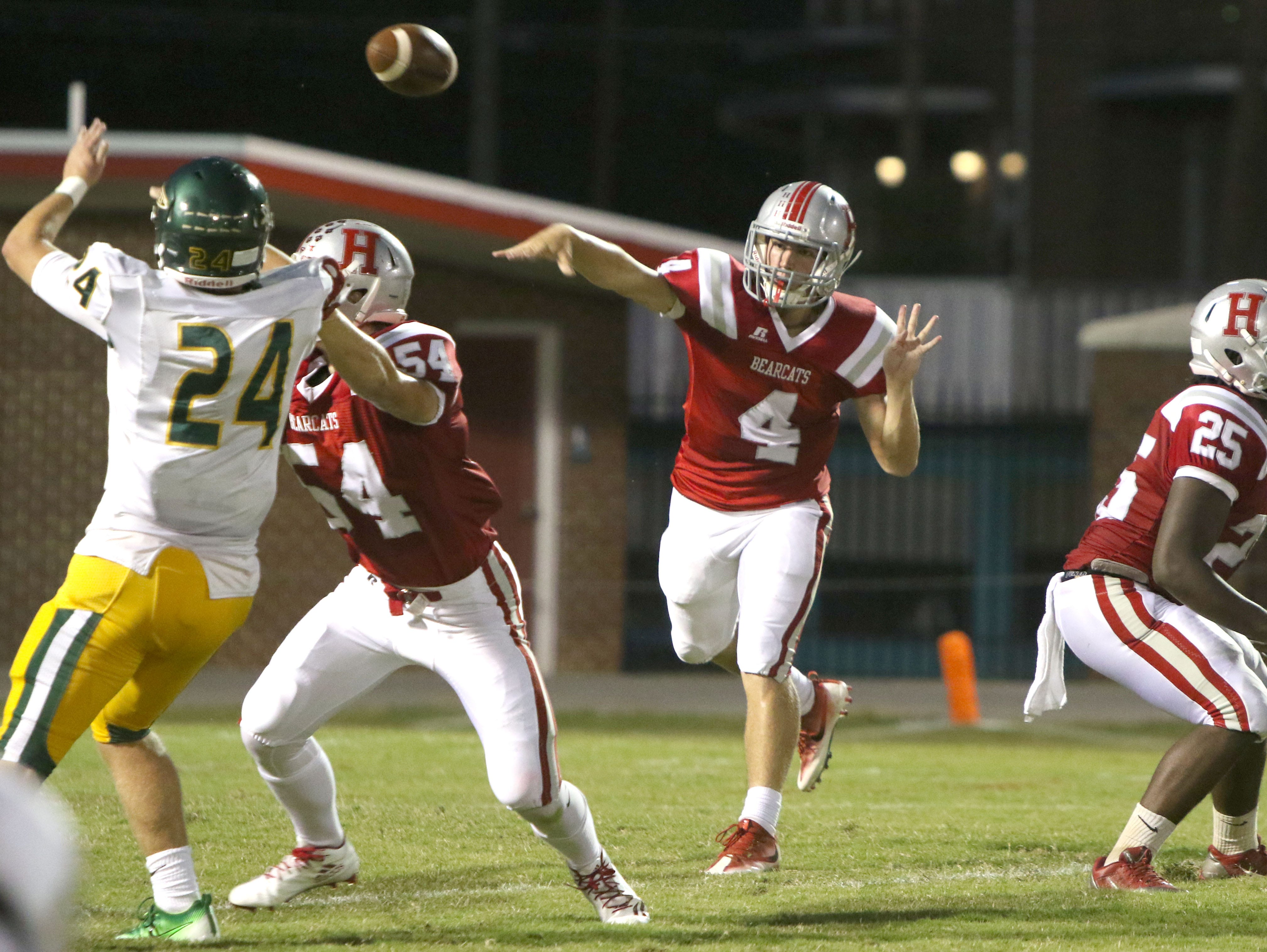 Alex Williford and Hendersonville are home for Friday's football game against Mitchell.