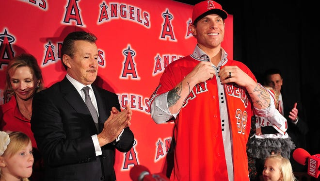 Angels owner Arte Moreno lavished a $125 million contract on Josh Hamilton in December 2012, but after a drug relapse, he angled to be rid of Hamilton this spring.