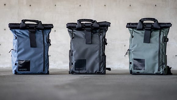 The PRVKE 21 backpack.