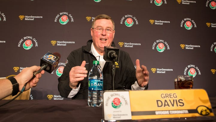 Iowa offensive coordinator Greg Davis is bullish on the future of his quarterback, C.J. Beathard, saying the senior could end up being the best he's ever coached.