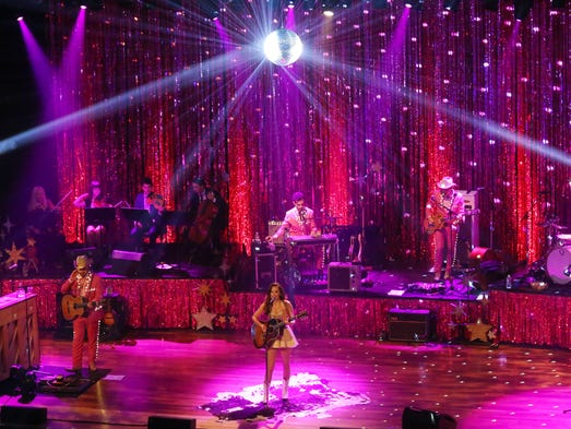 Kacey Musgraves performs at the Ryman Auditorium Wednesday