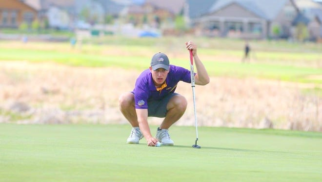 WNMU golfer Calum Hill shot 5-under par in the final round of the NCAA Nationals to jump into second place.