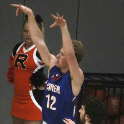 33rd District boys' basketball Ryle vs. Conner, Feb. 22