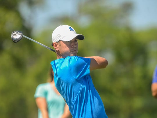 Gainesville native Chandler Blanchet was one of two UWF golfers to advance in local qualifers Monday for the U.S. Open. Both will play in sectional qualifiers next month.