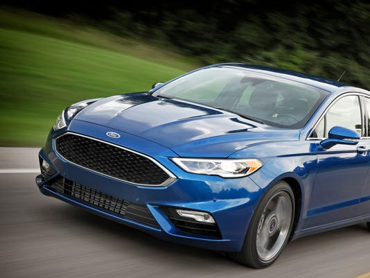 Ford Fusion Sport >> Car Review 2017 Ford Fusion Sport