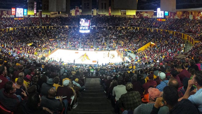 """Should ASU's Wells Fargo Arena be known as """"The Bank""""?"""