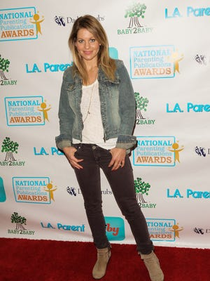 Candace Cameron Bure on Nov. 16, 2013 in Los Angeles.