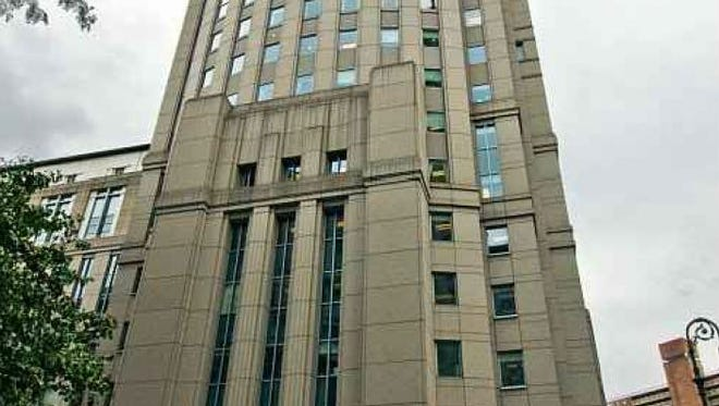 The federal courthouse for the Southern District of New York, in Manhattan.