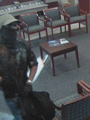 Robbery suspect at East Naples bank