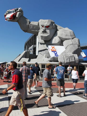 Dover International Speedway  is regularly mentioned