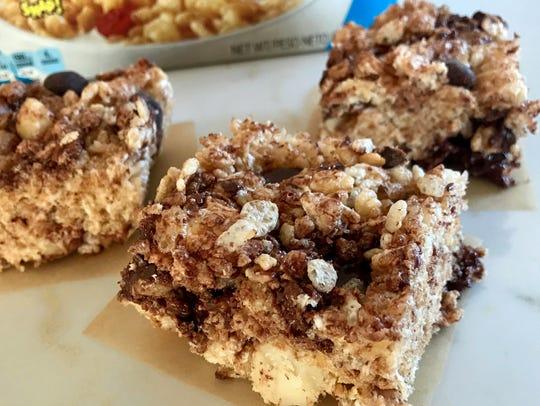Dark Chocolate & Macadamia Rice Krispies Bars call