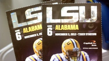LSU-Alabama ticket, based on current prices, is once again considered the most valuable in the SEC.