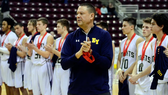 Eastern York coach Jon Reichard was not on the bench for Wednesday's loss to Susquehannock. No explanation was given for his absence. He's been in the role since April 2011. John A. Pavoncello photo