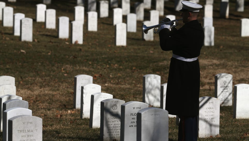 The overall number of active-duty suicides remained