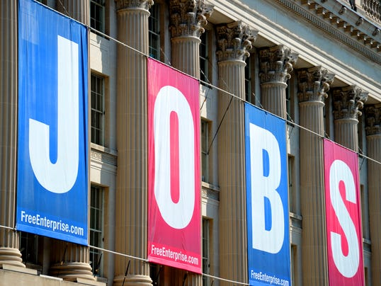 Chamber of Commerce Jobs sign