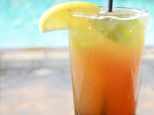 The Spring Shandy at the Omni Scottsdale Resort & Spa at Montelucia.