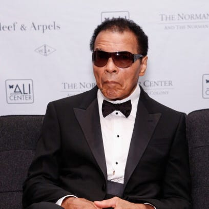 NEW YORK, NY - OCTOBER 04:  Former boxing champion