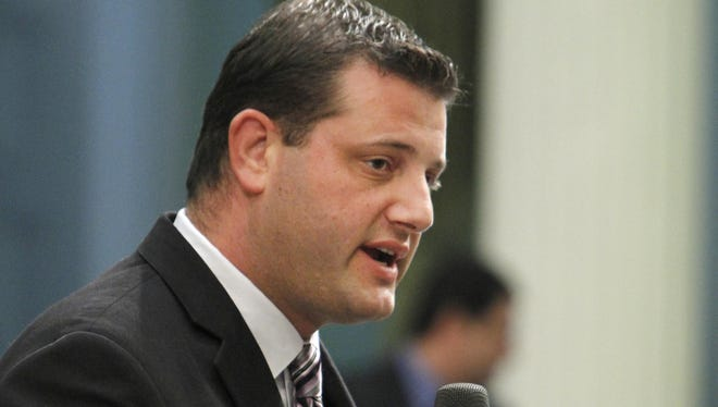 Rep. David Valadao, R-Calif., became the third Republican to co-sponsor a Democratic immigration bill that grants a pathway to citizenship for the nation's undocumented immigrants.