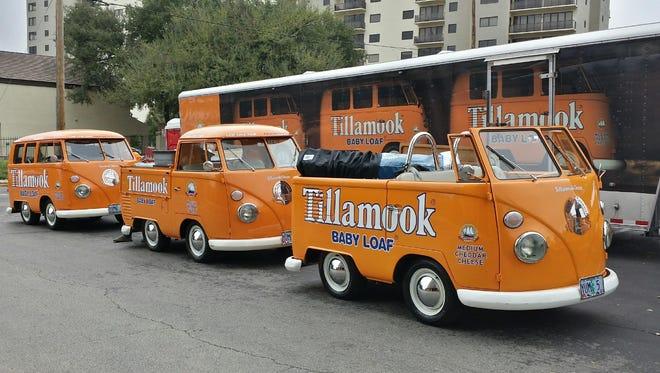 The Tillamook cheese bus rolls into Cincinnati soon.