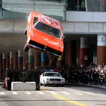'Dukes of Hazzard' car jumps ramp, crash lands
