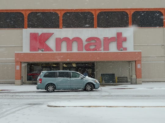The projected date for the closing of the Kmart on