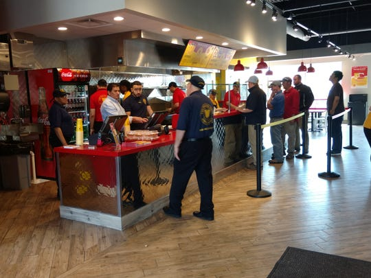 The Halal Guys restaurant in Union.
