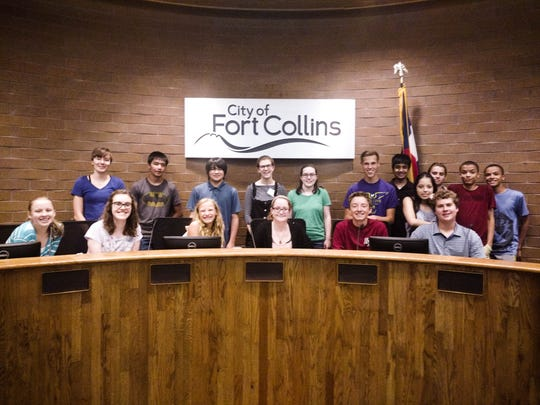 Fort Collins' 2017 Summer in the City class got to
