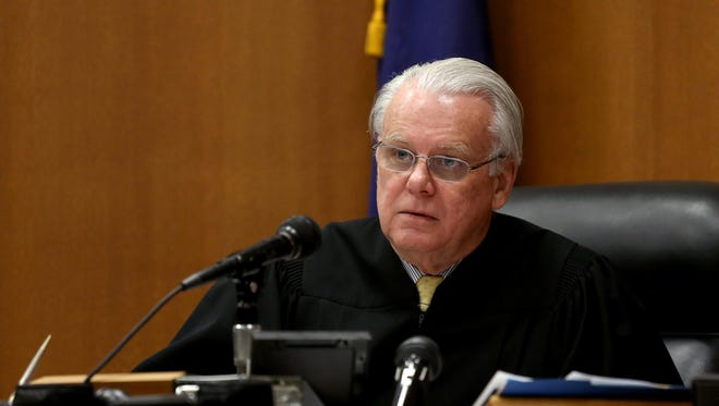 Judge Timothy Kenny during a February 2015 court hearing.