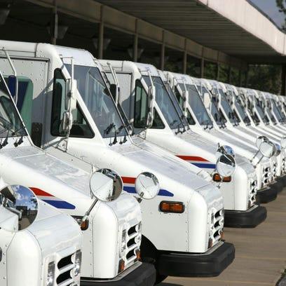 Postal-Truck