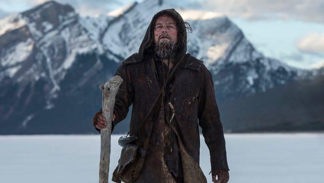 Leonardo DiCaprio is in 'The Revenant.'