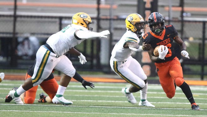 St. Edward at Massillon high school football: Friday August 28, 2020.