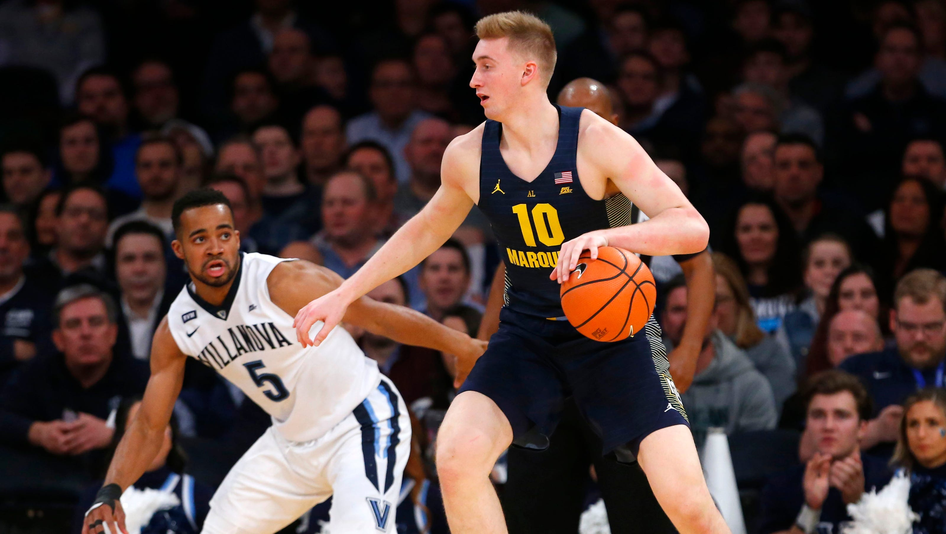 wisconsin high-school products competing in di men's basketball