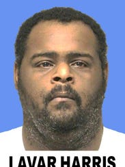 Lavar Harris has been charged with first-degree murder by abuse or neglect.