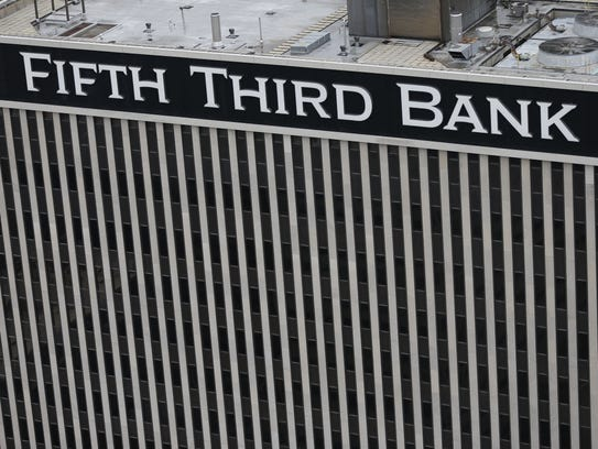 Fifth Third Bank's headquarters on Fountain Square