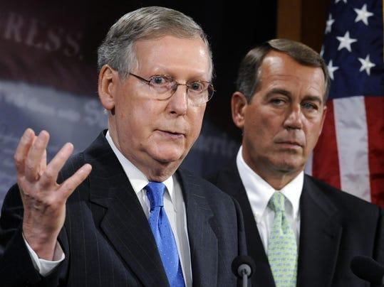 Mitch McConnell, John Boehner