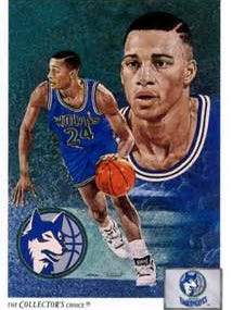 Pooh Richardson was far from the worst Wolves pick ever but underwhelming nevertheless.