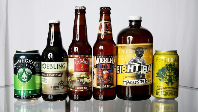 Local beers by Rhinegeist, Rivertown, Mt. Carmel, Moerlein, Ei8ht Ball and Madtree are all sold at at the Party Source.