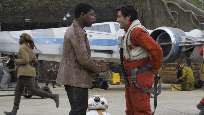 """""""I think 'That's So Rey-Finn' has a certain ring to it, don't you, Poe?"""""""